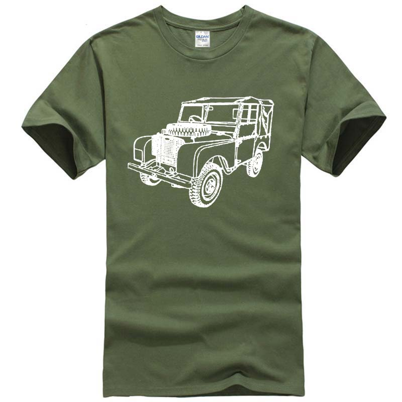 LAND ROVER SERIES 1 INSPIRED FASHION CAR T-SHIRT