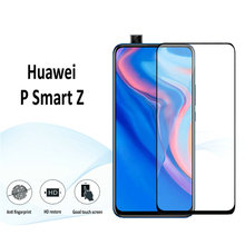 For Huawei P Smart Z 9D 6D 5D Full Glue Cover Tempered Glass Screen Protector for Film