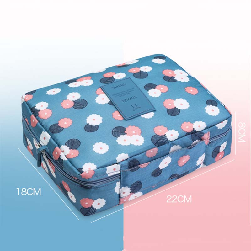 New Big Capacity Cosmetic Bag Fashion Multi-function Oxford Travel Storage Makeup Bag Men Women Portable Waterproof Wash Bag 30