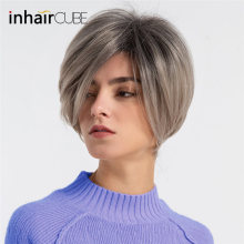 INHAIR CUBE Women Wigs 10 Inches New Syn