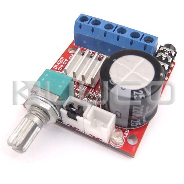 Power Amplifier Class D hifi stereo Amplifier Board DC 12V Digital Amplifier 10W+10W Dual-Channel Audio Control ModulePower Amplifier Class D hifi stereo Amplifier Board DC 12V Digital Amplifier 10W+10W Dual-Channel Audio Control Module