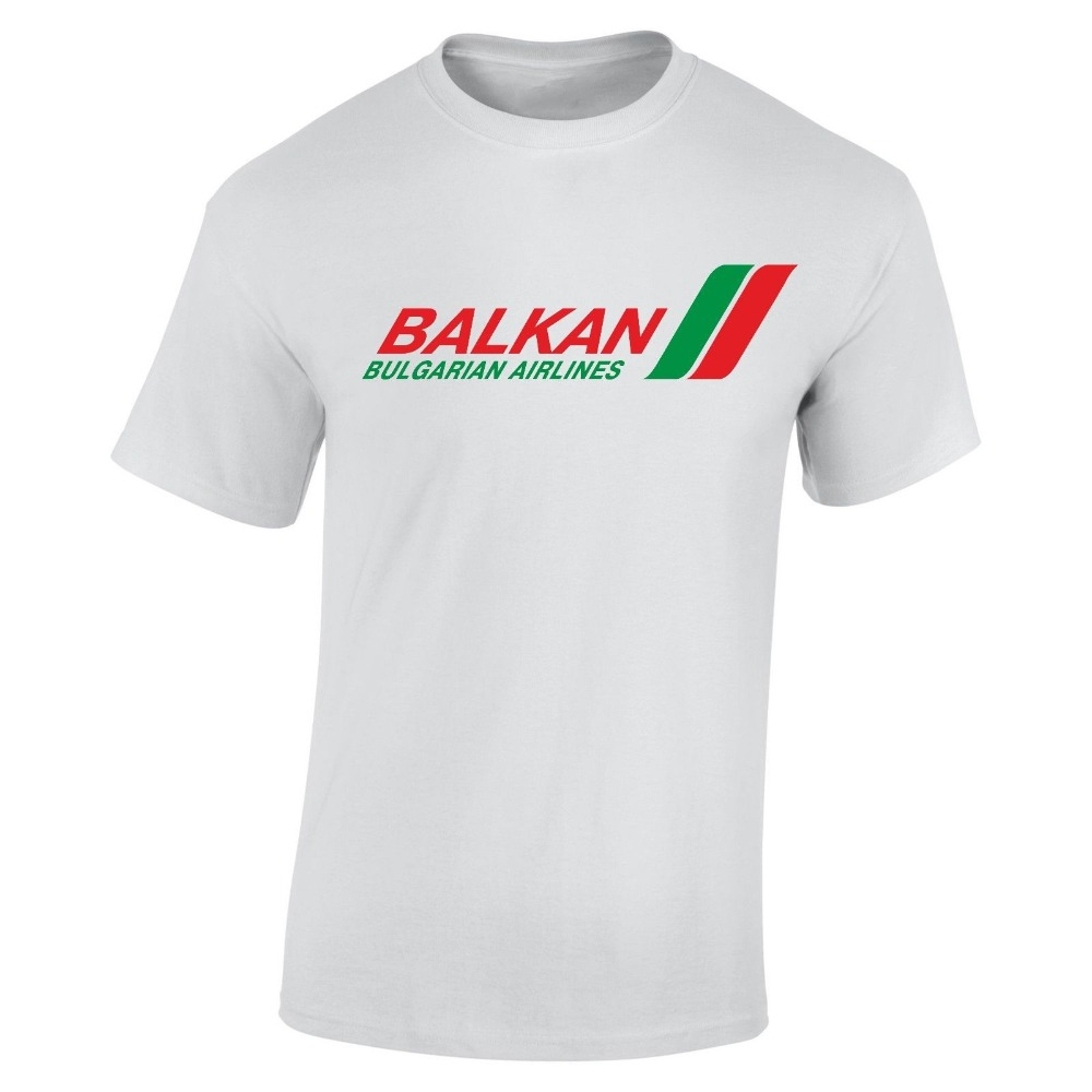 united states best wholesaler top brands US $12.87 8% OFF|Tshirt Homme 2019 New Balkan Airlines T Shirt Retro  Bulgarian Airline Bulgaria Airlines T Shirt Print T Shirt Men-in T-Shirts  from ...