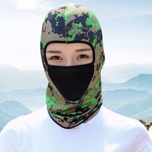 Cycling Balaclava Full Face Mask Summer Sportsweaar Scalf Ski Thin Breathable Neck Ultra Protecting Windproof Face Mask