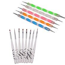 13pcs/set Nail Art Design Painting Tool Pen Polish Brush Set Kit Professional Nail Brushes Styling Nail Art tools