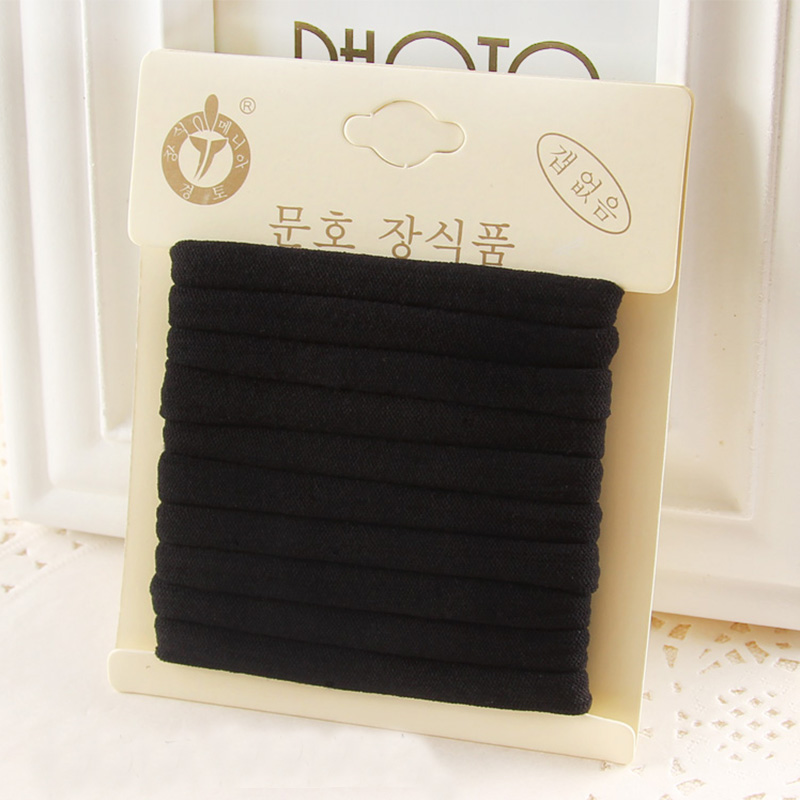 1Pack High Quality Cotton Solid Elastic Hair Band Headband For Women Girl Hair Rope Rubber Band Hair Accessories Tie Gum 17style