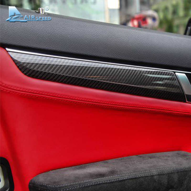 Airspeed 200mmX1520mm 5D Carbon Fiber Vinyl Film Car Stickers Wrap for Mercedes Benz W211 W204 W205 W203 W212 W210 Accessories