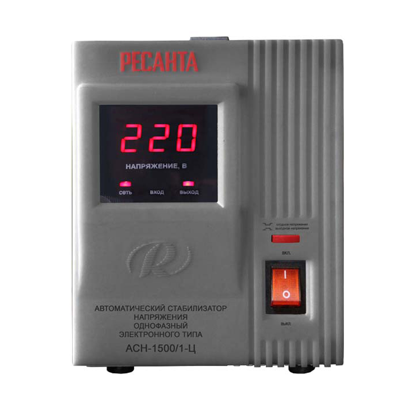 Voltage stabilizer RESANTA ASN-1500/1-C generator avr se350 voltage regulator se350 voltage stabilizer voltage governor