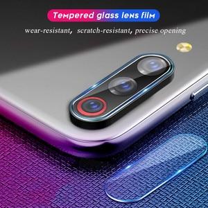 Image 5 - fast delivery 2 in 1 Xiaomi Mi A3 Camera Glass Film Xiaomi MIA3 Tempered Glass Full Case Cover for xiaomi mi a3 screen protector