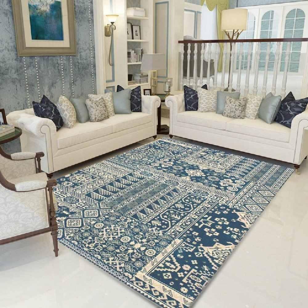 WINLIFE Modern Living Room Carpet Vintage Carpet for Bedroom European Rugs  and Carpets for Home Living Room Bedroom Carpet