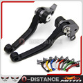 1 Pair CNC Pivot Brake Clutch Levers for Honda CRF250R CRF450R 2007-2015 8 Colors Free Shipping
