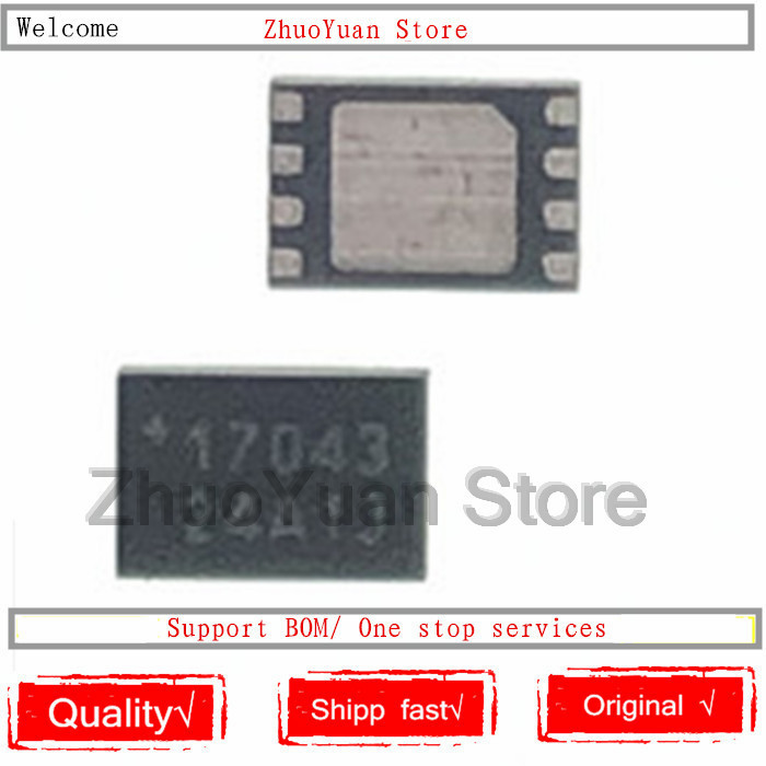 1PCS/lot MAX17043G+T MAX17043G MAX17043 TDFN8 IC Chip New Original In Stock