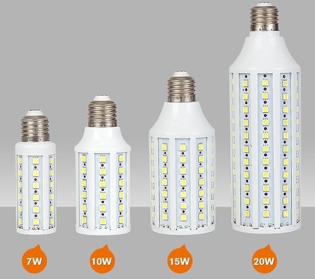 led e27 corn 15W E27 SMD5050 LED Corn Light Bulbs Warm White/White CE RoHS Approved 2 years warranty e27 220v 30w 2800lm 165led 5730sdm white led corn light