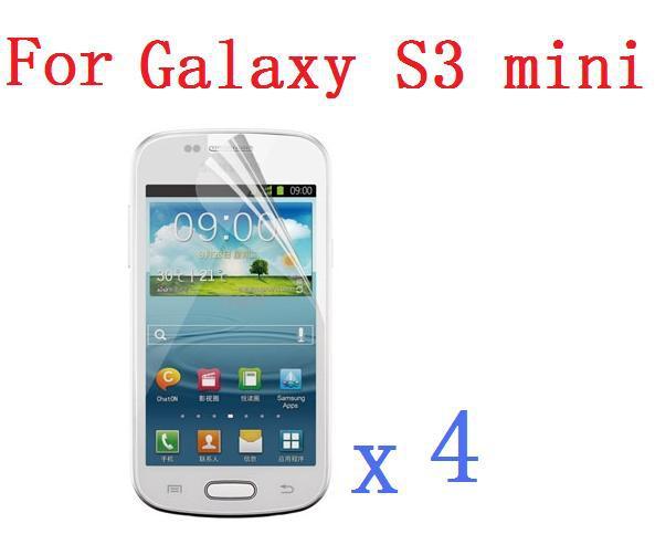Высокая Ясно ЖК-дисплей Экран протектор для Samsung Galaxy S3 III Mini i8190 + Тематические товары про рептилий и земноводных ткань + 4 шт./лот