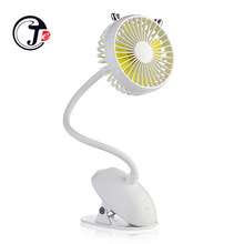 2000 mAh Battery Fan Clip Table Desk USB Fans Portable 360 Degree Quiet Third Gear Speed  Fans Cooling for Stroller Office Home копи картридж xerox желтый 50k phaser 6700