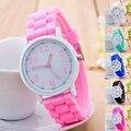 Kids Girls' Fashion Silicone Strap Arabic Number Sport Casual Quartz Wrist Watch