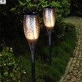 Solarbetriebene Edelstahl Wasserdichte LED Garten Im Freien Licht Landschaft Yard Rasen Pfad Lampe Taschenlampe Einkristall Platte|garden light|outdoor garden lightssolar power -