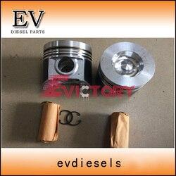 Per Bobcat escavatore V3300 V3300T V3300-DI piston e piston ring set