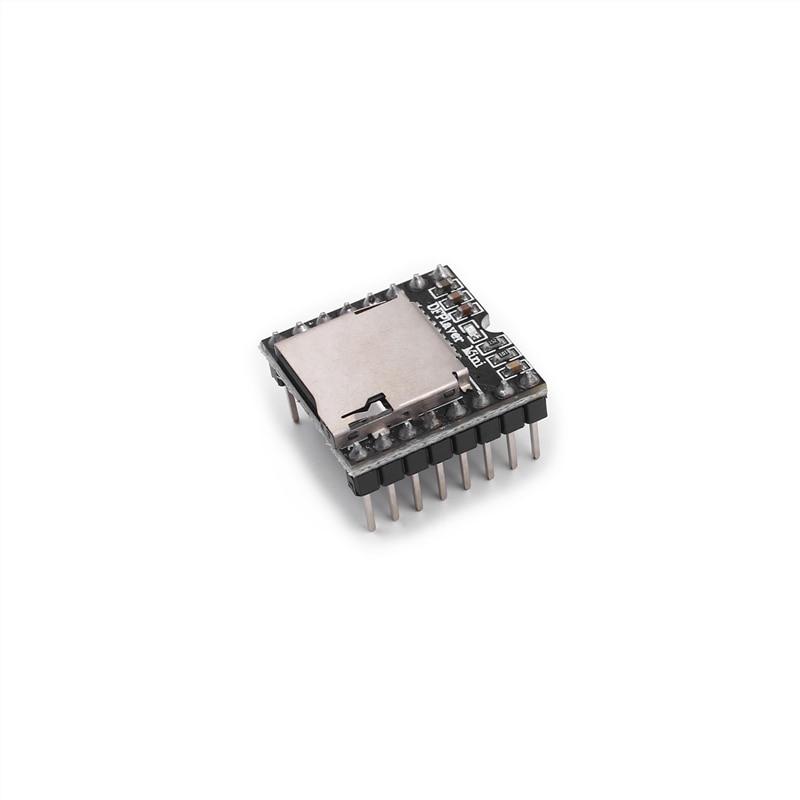 100% NEW TF Card U Disk Mini MP3 Player Audio Voice Module Board For Arduino DFPlay Wholesale DFPlaye