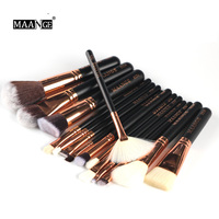 Professional Makeup Brushes Set 8 15 Pcs Power Foundation EyeShadow Blush Blending Make Up Beauty