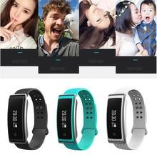 Лучший подарок смарт-браслет Bluetooth 4.0 Сенсорный экран фитнес-трекер Здоровье Спорт Бесплатная доставка H3T5