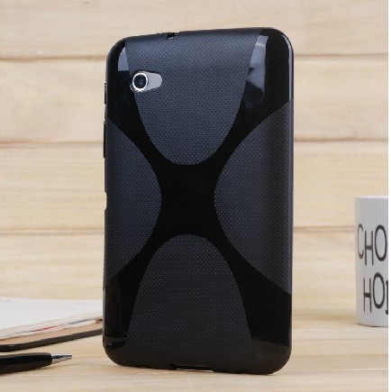 X-Line Soft TPU Silicon Case Silicone Rubber Gel Cover Skin case For Samsung Galaxy Tab 2 7.0 7