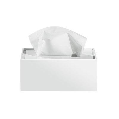 Простая прямоугольная акриловая коробка для салфеток для офиса отеля KTV настольная бумажная коробка для хранения полотенец декоративная коробка - Цвет: B