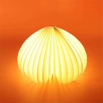 LED Usb Led ضوء الكتاب مصباح القراءة ضوء قابلة للشحن البسيطة خشبية مصباح ليلي لغرفة النوم عطلة هدية عيد ميلاد زخارف مكتب
