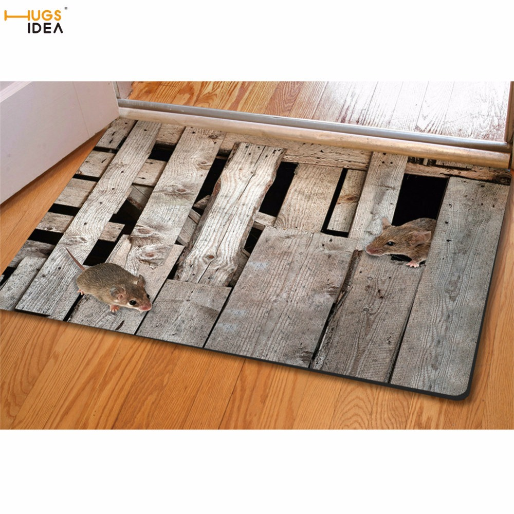 Hugsidea 3d Creative Floor Carpets Non Slip Kitchen Tapetes Area  -> Tapete Sala Home