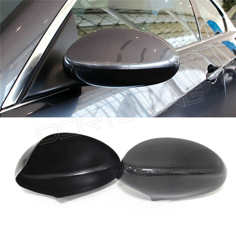 For BMW 3 Series E92 E93 Add on style & Replacement style carbon fiber side view mirror 2005 2006 2007 2008 carbon fiber side mirror cover caps overlay for 2005 2006 2007 2008 bmw e90 e91 3 series