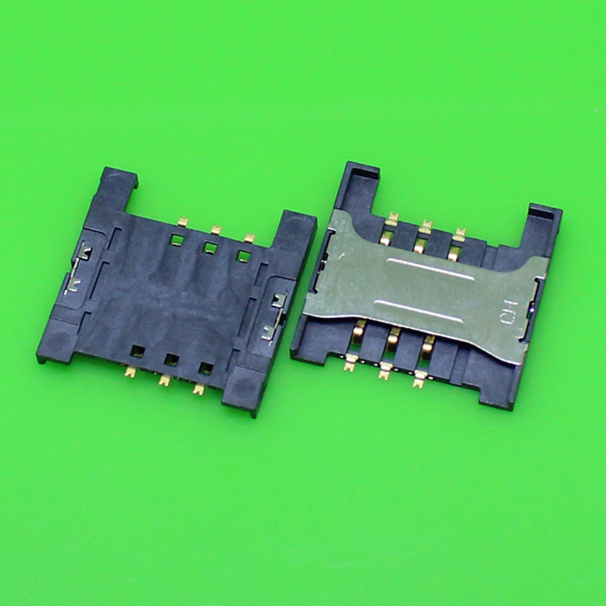 1 Piece High quality memory card reader holder socket slot tray connector for many cell phone. size:16.5*16.5*1.8mm.KA-209