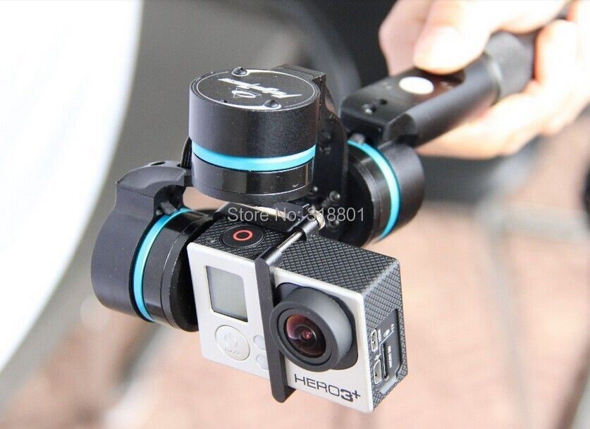 Feiyu FY-G3 Ultra 3-Axis Gopro3 Handheld steadycam Camera Gimbal Stabilizer feiyu tech fy mini3d pro 3 axis 6 damper ball brushless gimbal for gopro4 gopro3 gopro3 sport camera