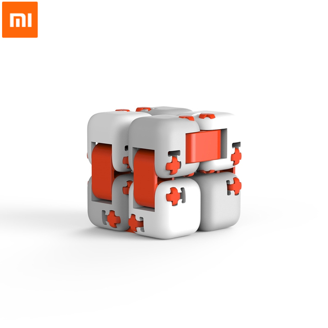 2018 xiaomi mitu Cube Spinner Finger Bricks Intelligence Toys Smart Finger Toys Portable For xiaomi smart home Gift for Kid