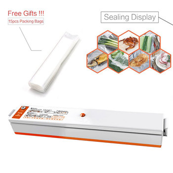 Kitchen Appliances Vacuum Food Sealing Sealer Machine with Bags Vacuum Packing Machine Packers for Home 110V 220V EU/UK/US Plug 8