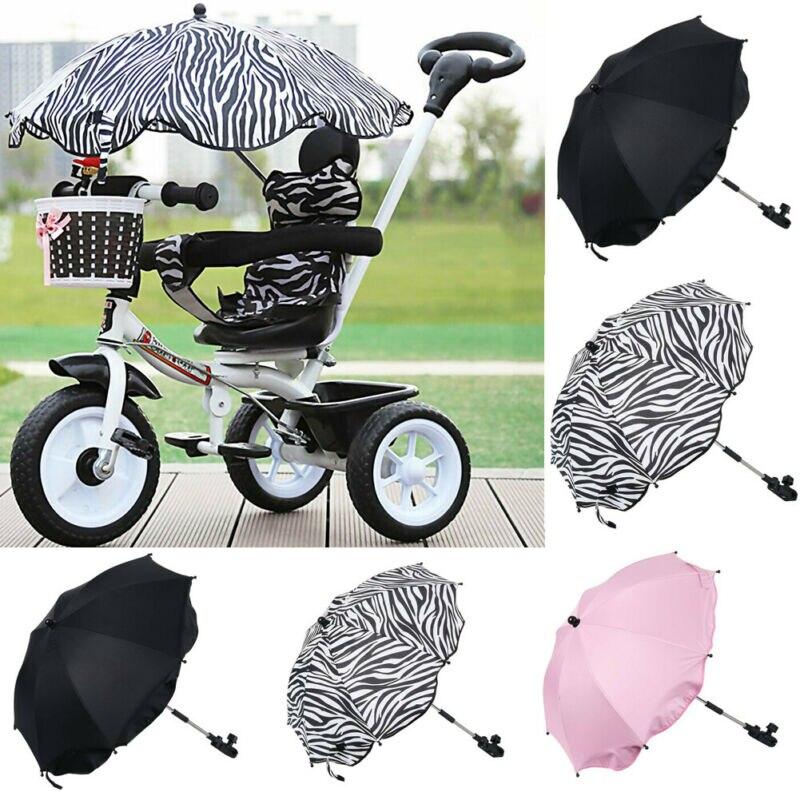 Cebra Soporte Paraguas Lluvia Carrito Bebe Silla De Paseo Bicicleta Universal