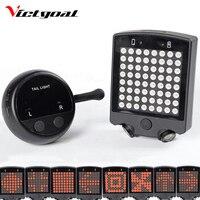 New Bicycle LED Light 2 Lasers Intelligent LED Display Night Cycling Bike Saddle Safety MTB Road