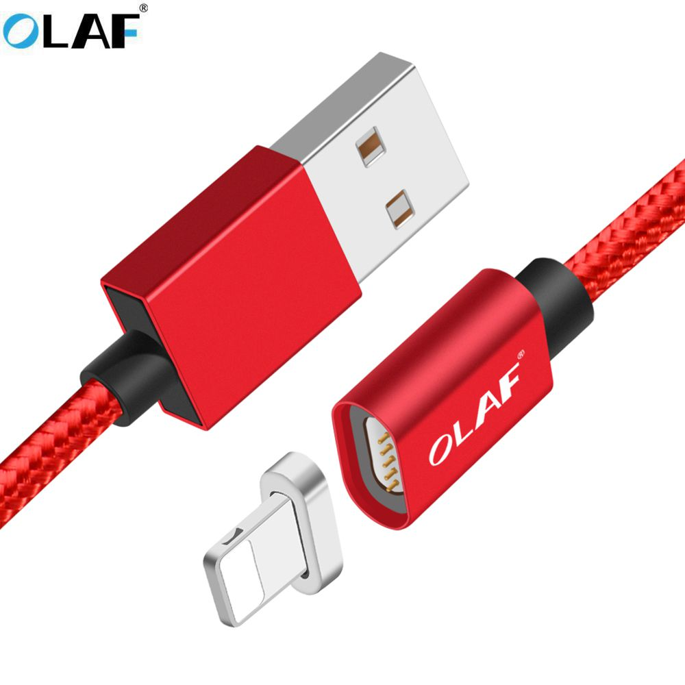 OLAF Magnetic Cable Fast Charging USB Cable for iphone 5 5s