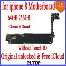 64GB 256GB per iphone 8 Scheda Madre con IOS di Sistema, 100% Originale sbloccato Senza Touch ID, trasporto iCloud