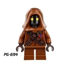 Single Sale star wars superhero Jawa SW590 Sandcrawler building blocks model bricks toys for children brinquedos menino