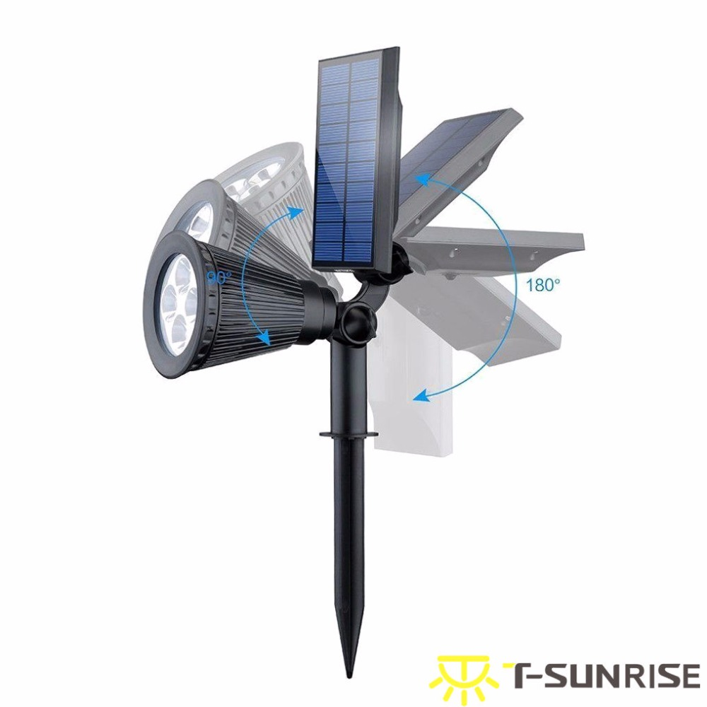 Ao Ar Livre LED Solar Lâmpada IP65