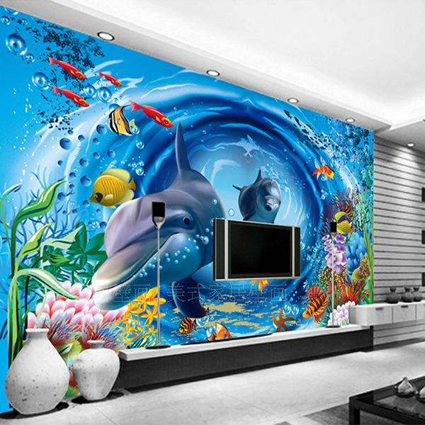 Popular Aquarium Wallpapers-Buy Cheap Aquarium Wallpapers