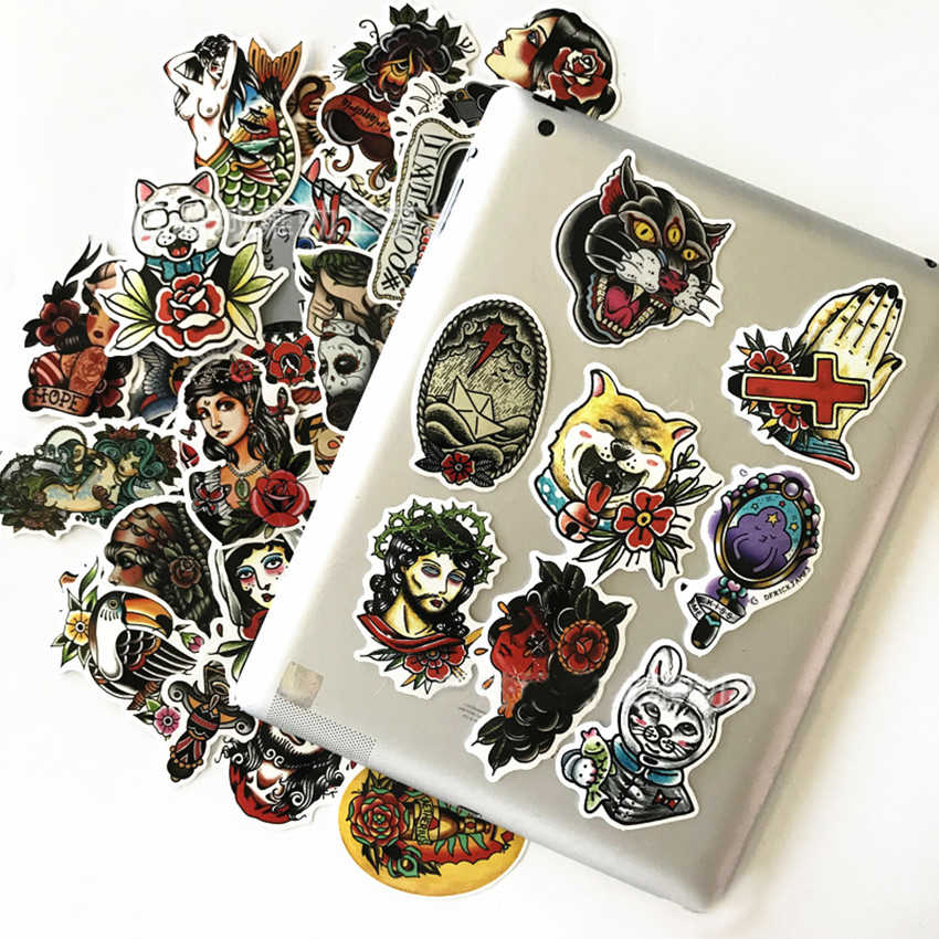 50 шт. крутые наклейки для скейтборда бомба объемный пакет сноуборд декоративные наклейки из винила Черный