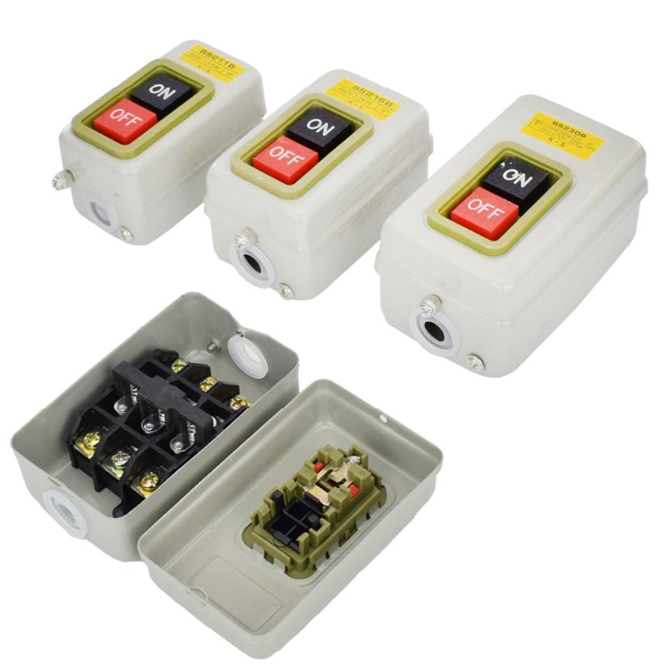 ac 380v 220v power pushbutton switch wiring terminal blocks ...  aliexpress