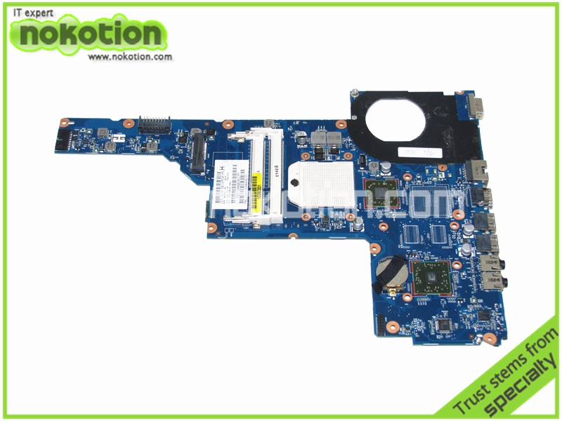NOKOTION 640893-001 Laptop Moterboard for hp pavilion G6 G6-1000 DDR3 ATI HD4200 graphics Mainboard Mother Boards ...