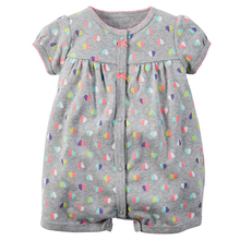 Baby Rompers Dress Cotton Girl Clothes