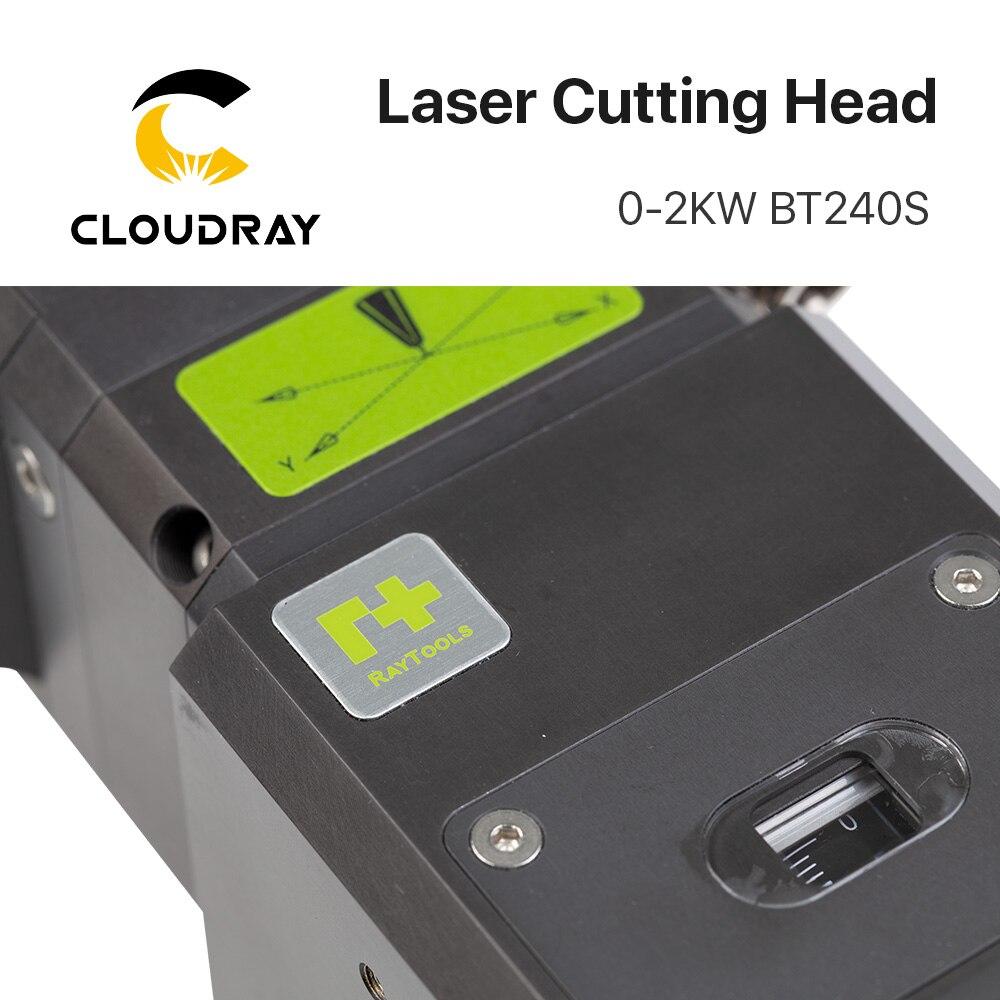 Raytools BT240S 0-3.3kw Fiber Laser Cutting Head BT240 2000W for Raycus IPG Fiber Laser
