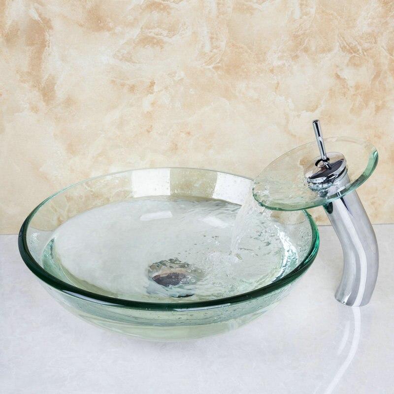 el mejor cuarto de bao encimera lavabo del bao vanidad vessel lavabo lavabo de cristal templado