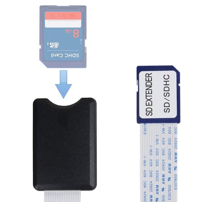 Carte SD SDHC SDXC adaptateur de câble d'extension Flexible mâle à femelle 48 cm/60 cm