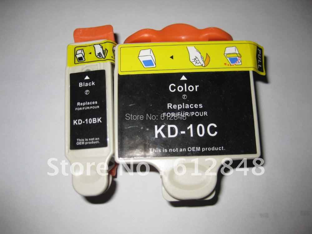 New Compatible Ink Cartridge KD 10 For Kodak EASYSHARE 5100 5300 5500 Printer Free Shipping In Cartridges From Computer Office On