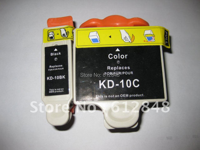New Compatible Ink Cartridge Kd 10 For Kodak Easyshare 5100