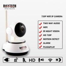 Daytech Home Security IP Camera Wifi Camera Wireless Mini Surveillance Camera 720P Night Vision CCTV Camera Baby CameraDT-C8815